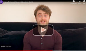Watch Daniel Radcliffe read Harry Potter video
